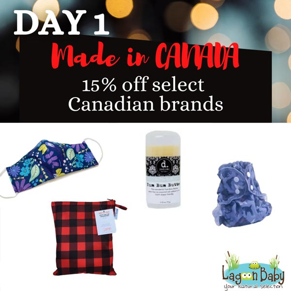 Lagoon Baby's 9th Annual Blackout SALE - Made in Canada
